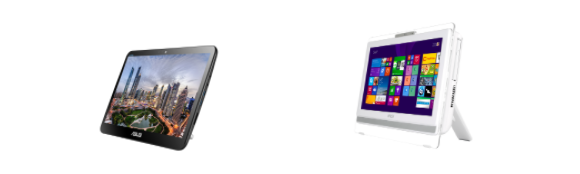 All in one touchscreen Pcs